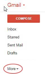 gmail more category